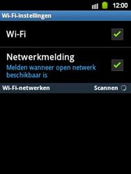Samsung S5360 Galaxy Y - WiFi - Handmatig instellen - Stap 7