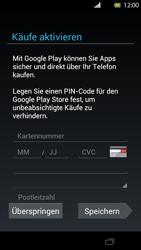 Sony Xperia T - Apps - Konto anlegen und einrichten - Schritt 12