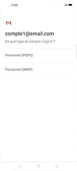 Oppo Find X2 Neo - E-mails - Ajouter ou modifier un compte e-mail - Étape 10
