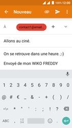 Wiko Freddy - E-mails - Envoyer un e-mail - Étape 10