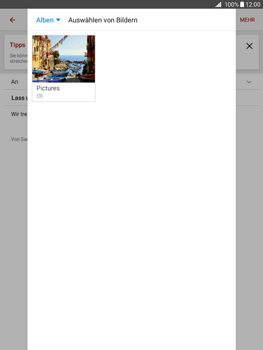 Samsung T555 Galaxy Tab A 9.7 - E-Mail - E-Mail versenden - Schritt 16