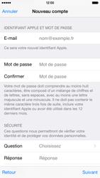 Apple iPhone 6 - Applications - Créer un compte - Étape 13