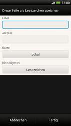 HTC One X Plus - Internet und Datenroaming - Verwenden des Internets - Schritt 11