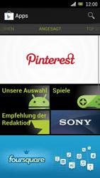 Sony Ericsson Xperia Ray mit OS 4 ICS - Apps - Konto anlegen und einrichten - 17 / 18