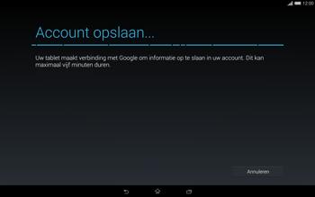 Sony Xperia Tablet Z2 4G (SGP521) - Applicaties - Account aanmaken - Stap 17