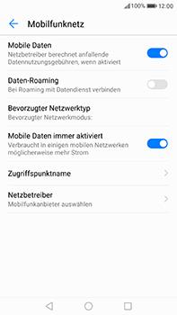 Huawei P10 Plus - Internet und Datenroaming - Prüfen, ob Datenkonnektivität aktiviert ist - Schritt 6