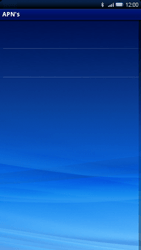 Sony Xperia X10 - MMS - Handmatig instellen - Stap 7