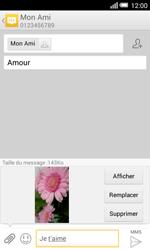 Alcatel Pop S3 (OT-5050X) - MMS - Envoi d