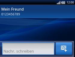 Sony Ericsson Xperia X10 Mini Pro - MMS - Erstellen und senden - 9 / 15