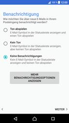 Sony Xperia XA1 - E-Mail - Konto einrichten - Schritt 21