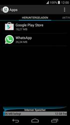 Wiko Highway Pure - Apps - Eine App deinstallieren - Schritt 5