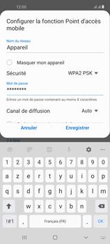 Samsung Galaxy A21s - Internet et connexion - Partager votre connexion en Wi-Fi - Étape 10