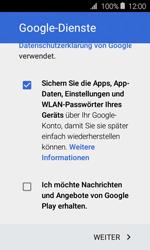 Samsung Galaxy Xcover 3 VE - Apps - Konto anlegen und einrichten - 17 / 22