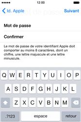 Apple iPhone 4S (iOS 8) - Premiers pas - Créer un compte - Étape 21