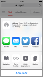 Apple iPhone 5s iOS 8 - Internet - Internetten - Stap 16
