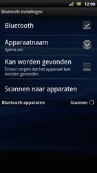 Sony Ericsson Xperia Arc S - Bluetooth - Headset, carkit verbinding - Stap 7