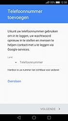Huawei Honor 8 - apps - account instellen - stap 13