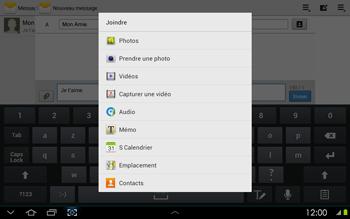 Samsung P5100 Galaxy Tab 2 10-1 - MMS - envoi d'images - Étape 9