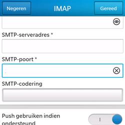 BlackBerry Q5 - E-mail - Handmatig instellen - Stap 14