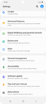Samsung Galaxy S20 Ultra 5G - Applications - How to uninstall an app - Step 4