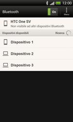 HTC One SV - Bluetooth - Collegamento dei dispositivi - Fase 6