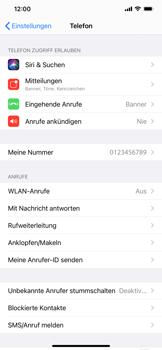 Apple iPhone 11 - iOS 14 - WiFi - WiFi Calling aktivieren - Schritt 5