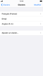 Apple iPhone SE (2020) - Prise en main - Comment ajouter une langue de clavier - Étape 8