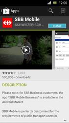 Sony Xperia U - Applications - Installing applications - Step 21