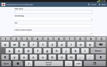 Samsung P5220 Galaxy Tab 3 10-1 LTE - E-Mail - Konto einrichten - Schritt 9