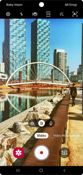 Samsung Galaxy Note 10 - Photos, vidéos, musique - Créer une vidéo - Étape 7