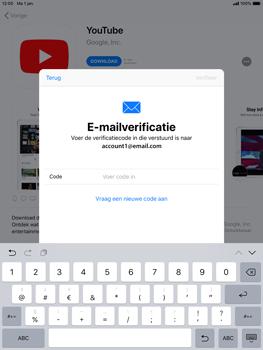 Apple ipad-mini-4-ios-12 - Applicaties - Account aanmaken - Stap 22