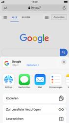 Apple iPhone SE (2020) - Internet und Datenroaming - Verwenden des Internets - Schritt 6