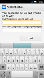 Alcatel One Touch Idol Mini - E-mail - manual configuration - Step 20