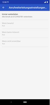 Nokia 6.1 Plus - Android Pie - Anrufe - Rufumleitungen setzen und löschen - Schritt 13