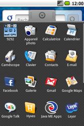 Samsung I5700 Galaxy Spica - E-mail - configuration manuelle - Étape 4