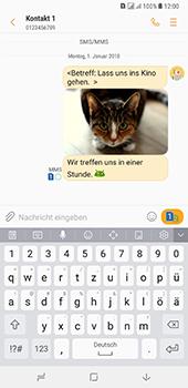 Samsung Galaxy A8 Plus (2018) - MMS - Erstellen und senden - 24 / 25
