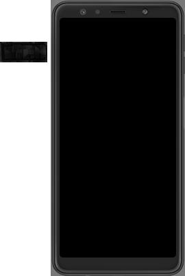 Samsung Galaxy A7 (2018) - Toestel - simkaart plaatsen - Stap 3