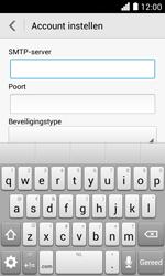 Huawei Ascend Y330 - E-mail - Handmatig instellen - Stap 14