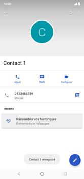 Nokia 7.1 - Contact, Appels, SMS/MMS - Ajouter un contact - Étape 8