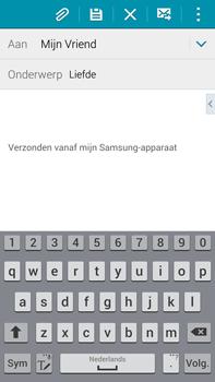 Samsung N910F Galaxy Note 4 - E-mail - E-mails verzenden - Stap 9