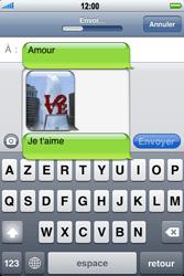 Apple iPhone 3G - MMS - envoi d'images - Étape 13