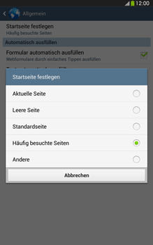Samsung Galaxy Tab 3 8-0 LTE - Internet und Datenroaming - Manuelle Konfiguration - Schritt 24