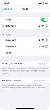 Apple iPhone 11 Pro - Wi-Fi - Connect to Wi-Fi network - Step 7