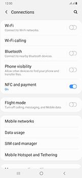 Samsung Galaxy A50 - Internet and data roaming - Manual configuration - Step 5