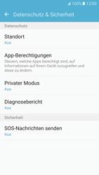 Samsung Galaxy S7 - Datenschutz und Sicherheit - Apps schützen - 5 / 9