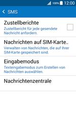 Samsung G360F Galaxy Core Prime - SMS - Manuelle Konfiguration - Schritt 7