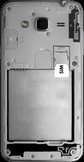 Samsung Galaxy J3 (2016) - SIM-Karte - Einlegen - 3 / 9