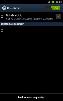 Samsung N7000 Galaxy Note met OS 4 ICS - Bluetooth - Headset, carkit verbinding - Stap 7