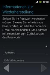 Sony Xperia E - Apps - Konto anlegen und einrichten - 11 / 17