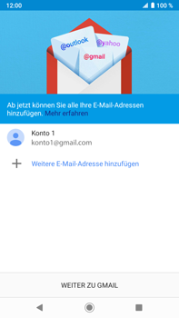 Sony Xperia XZ2 Premium - Android Pie - E-Mail - Konto einrichten (gmail) - Schritt 13